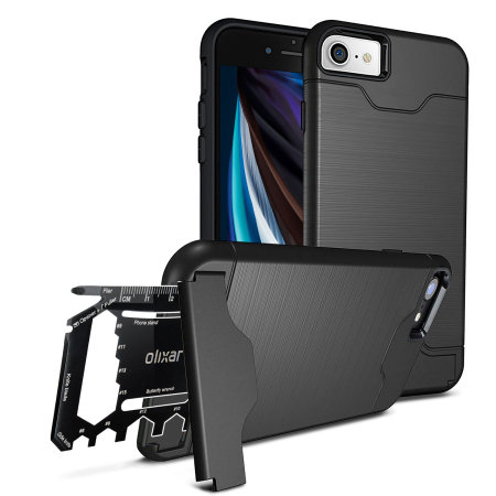 Olixar X-Ranger iPhone SE 2020 Survival Case - Black