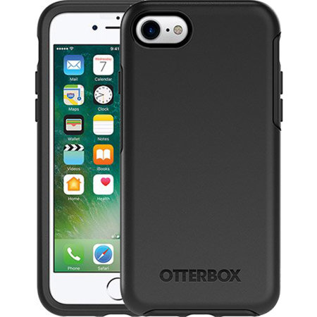 OtterBox Symmetry iPhone SE 2020 Case - Black