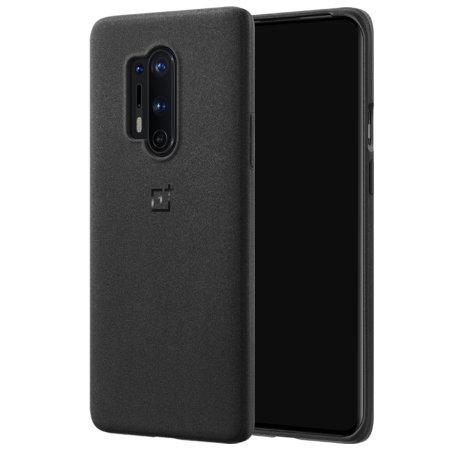 Official OnePlus 8 Pro Sandstone Bumper Case - Black