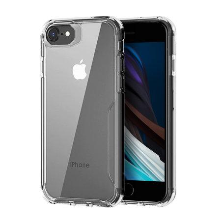 Olixar NovaShield iPhone SE 2020 Bumper Case - Clear