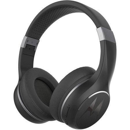 Motorola Escape 220 Over Ear Hd Wireless Headphones Black