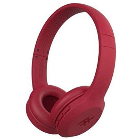 iFrogz Resound Wireless Bluetooth Headphones - Red