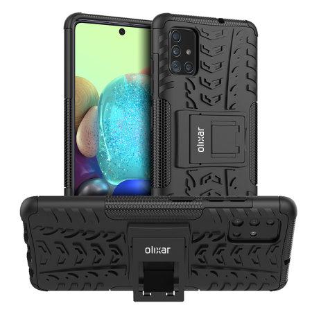Olixar Armourdillo Samsung Galaxy A71 5g Tough Case Black