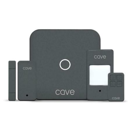 Veho Cave Complete Smart Home Security Starter Kit - Grey