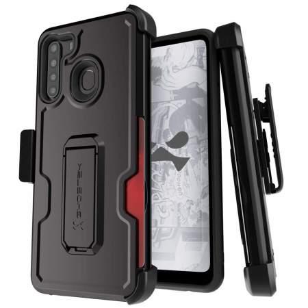 Ghostek Iron Armor 3 Samsung Galaxy A21 Case - Black
