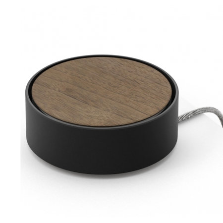 Native Union Eclipse 3-Way USB Charging Station - Black / Wood