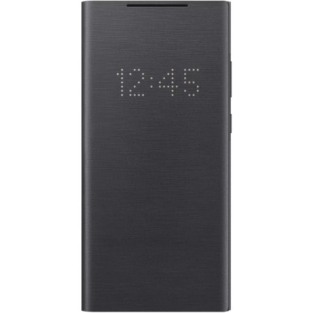 Official Samsung Galaxy Note 20 LED View Cover Case - Mystic Black