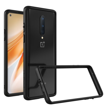 RhinoShield OnePlus 8 CrashGuard Bumper Protection - Black