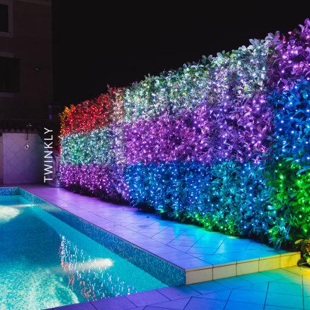 Twinkly Smart RGB LED Christmas String Lights Gen II - 400 LED's