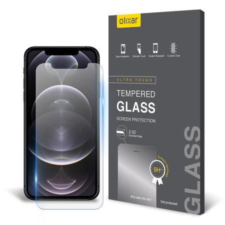 Olixar iPhone 12 Pro Anti-Blue Light Tempered Glass Screen Protector