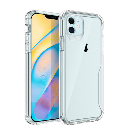 Olixar NovaShield iPhone 12 mini Bumper Case - Clear