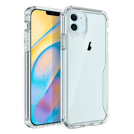 Olixar NovaShield iPhone 12 Bumper Case - Clear