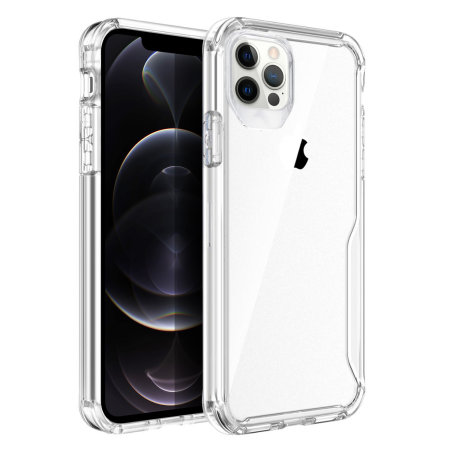 Olixar NovaShield iPhone 12 Pro Bumper Case - Clear
