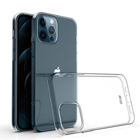 Olixar Ultra-Thin iPhone 12 Pro Max Case - 100% Clear