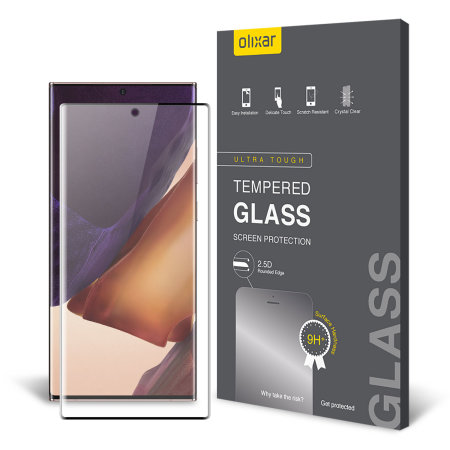 Olixar Samsung Galaxy Note 20 Ultra Tempered Glass Screen Protector