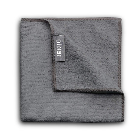 Olixar Premium Mobile Phone Cleaning Cloth - 15x22cm - Black