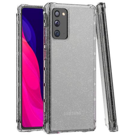 Araree Mach Glitter Samsung Galaxy Note 20 Case - Clear