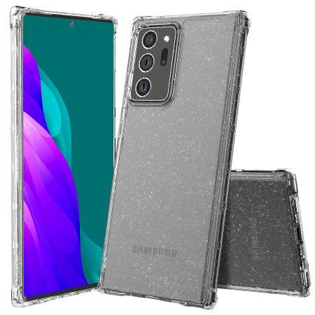 Araree Mach Glitter Samsung Galaxy Note 20 Ultra Case - Clear