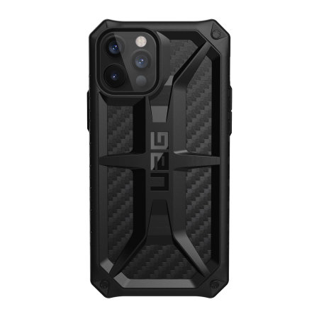 UAG Monarch iPhone 12 Pro Max Tough Case - Carbon Fibre