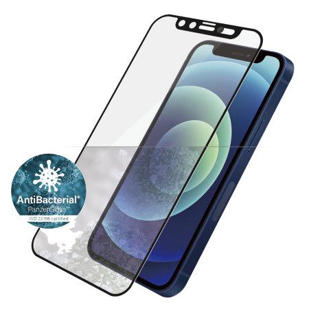 PanzerGlass CamSlider iPhone 12 Max Glass Screen Protector - Black