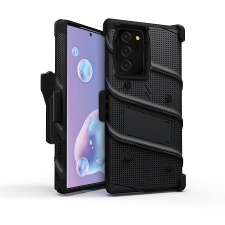 Zizo Bolt Samsung Galaxy Note 20 Ultra Tough Case - Black