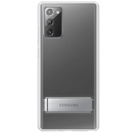 Offical Samsung Galaxy Note 20 Clear Standing Cover - Transparent