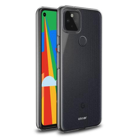 Olixar Ultra-Thin Google Pixel 5 Case - 100% Clear