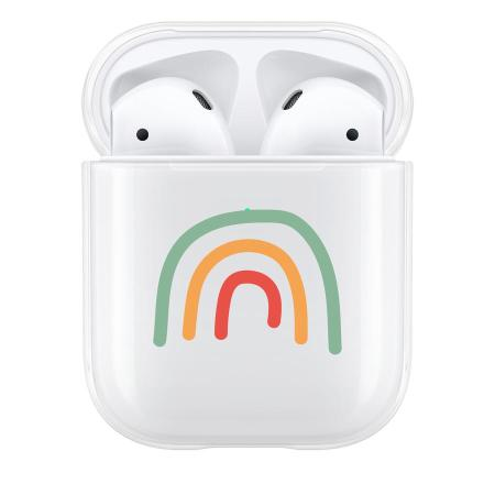 Lovecases AirPods 1 / 2 Protective Case - Abstract Rainbow
