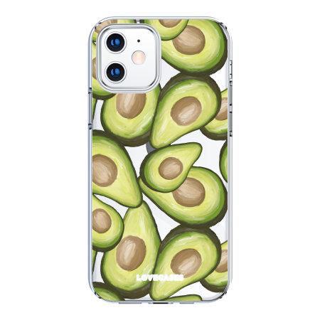 LoveCases iPhone 12 mini Avocado Case - Clear