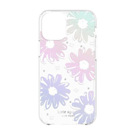 Kate Spade New York iPhone 12 Case - Daisy Iridescent Foil