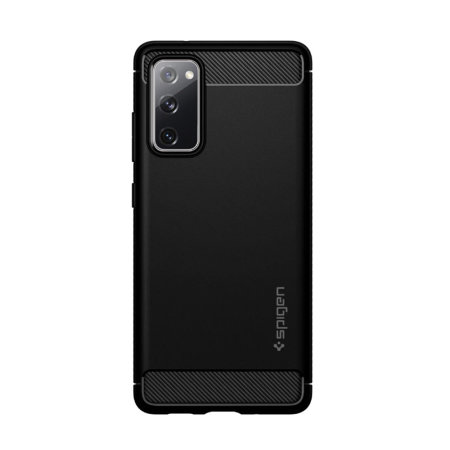 Spigen Samsung Galaxy S20 FE Rugged Armour Case - Matte Black