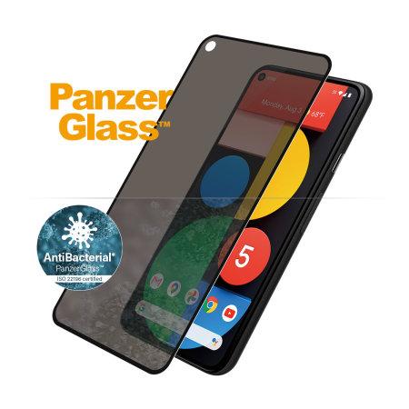 PanzerGlass Google Pixel 5 Case Friendly Privacy Screen Protector