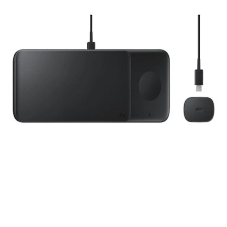 Official Samsung Wireless Trio Charger - Black