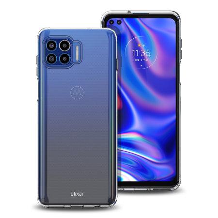 Olixar Ultra-Thin Motorola One G 5G Plus Case - 100% Clear