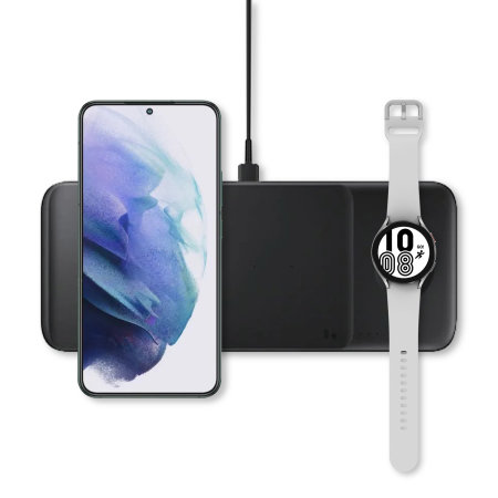 Official Samsung Galaxy Z Fold 2 5G Wireless Trio Charger - Black