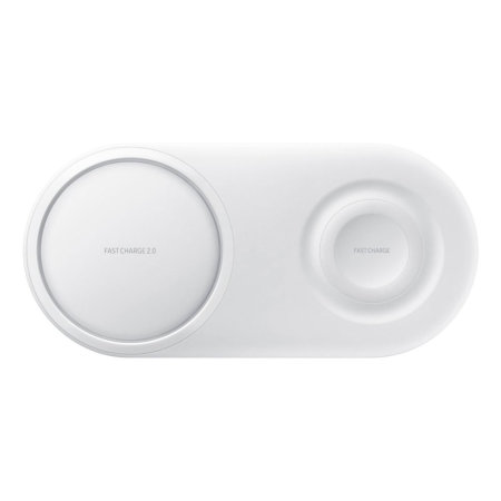 Official Samsung Z Fold 2 5G Wireless Fast Charging Duo Pad - White