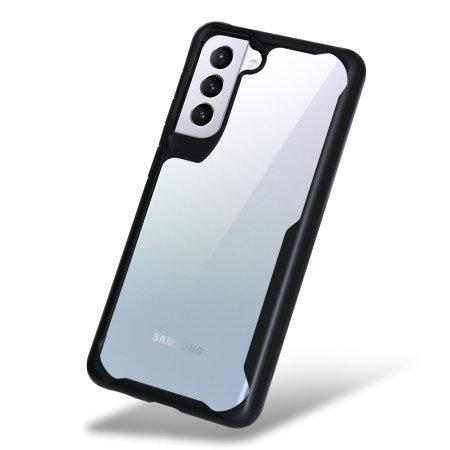 Olixar NovaShield Samsung Galaxy S21 Plus Bumper Case - Black