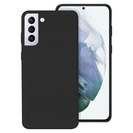 Olixar Samsung Galaxy S21 Plus Soft Silicone Case - Black