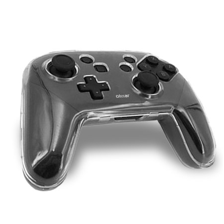 Olixar Nintendo Switch Pro Protective Controller Case  - 100% Clear