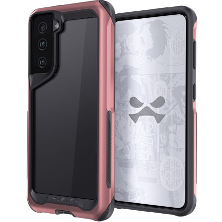 Ghostek Atomic Slim 3 Samsung Galaxy S21 Case - Pink Aluminium