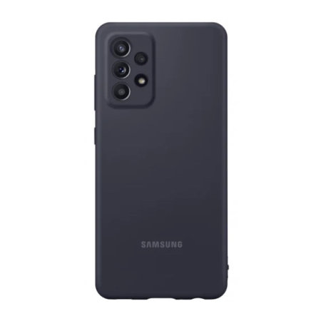 Official Samsung Galaxy A52 Silicone Cover Case - Black