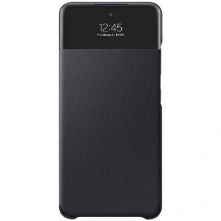 Official Samsung Galaxy A72 Smart S View Wallet Case - Black