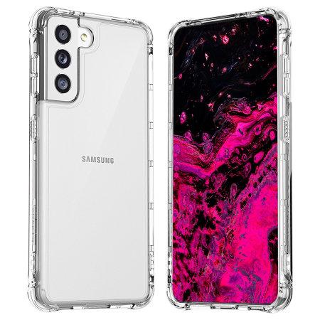 Araree Samsung Galaxy S21 Mach Slim Case - Clear