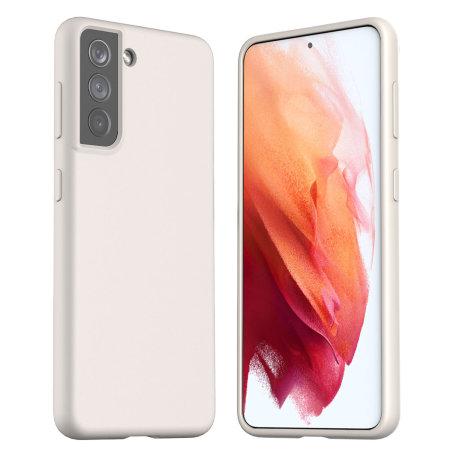 Araree Samsung Galaxy S21 Typo-Skin Silicone Case - Violet