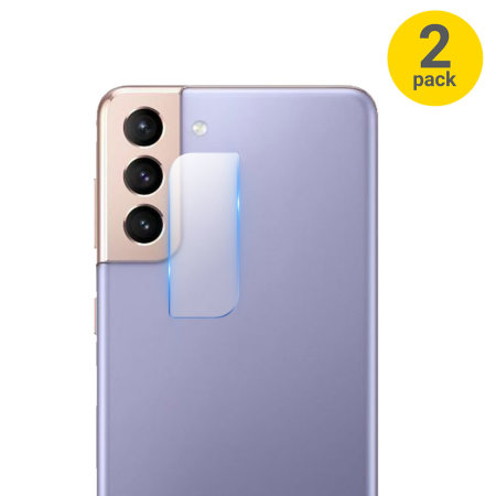 Olixar Samsung Galaxy S21 Camera Protectors - Two Pack