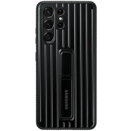 Official Samsung Galaxy S21 Ultra Protective Standing Case - Black