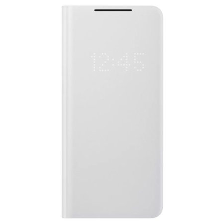Official Samsung Galaxy S21 Ultra LED View Cover Case - Grey