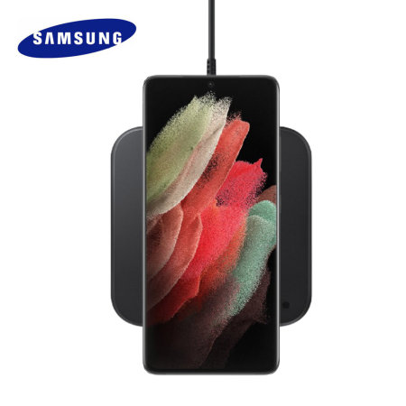 Official Samsung 9W Wireless Charging Pad 2 With UK Plug - Black