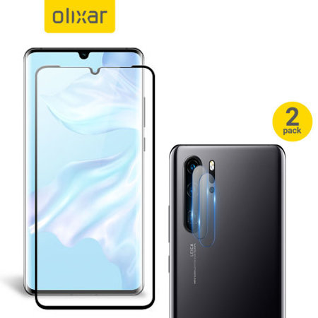 Olixar Huawei P30 Pro Screen Protector & 2 Pack Camera Protectors