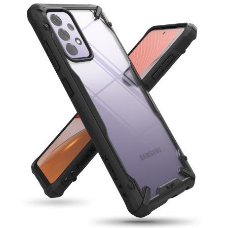 Ringke Fusion X Samsung Galaxy A72 Tough Case - Black